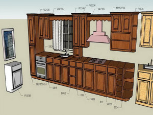 make your own kitchen cabinet doors 9