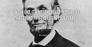 Abraham Lincoln The Pilot Your Life
