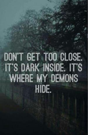 Imagine Dragons song Demons lyrics