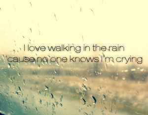 cry, love, rain, sad, walk