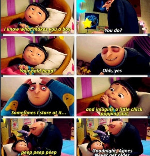 agnes despicable me 2 quotes tumblr - Google Search