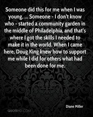 Diane Miller Quotes