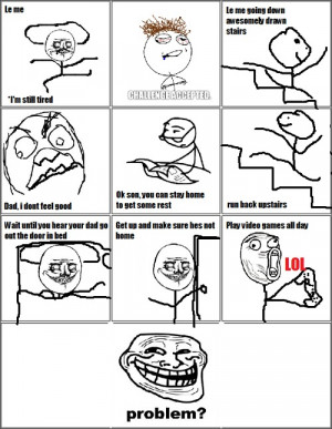 Troll Face - Feeling sickI love doing this!Submitted by p0p-s3sh ...