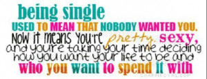 being single