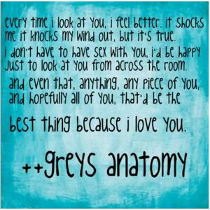 Grey Anatomy Quotes