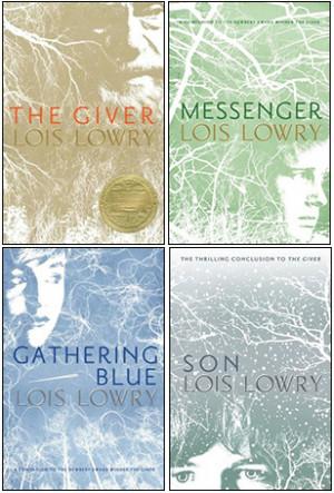 The Giver Quartet (The Giver, Gathering Blue, Messenger, Son)