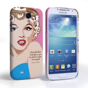 S4 Marilyn Monroe 'Fear is Stupid' Quote Case | Mobile Madhouse ...