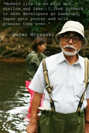 Hayao Miyazaki Quotes (Images)