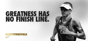 Greatness has no finish line.