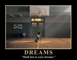 Boy Basketball - Dreams poster