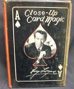 Close up Card Magic by Lorayne Harry