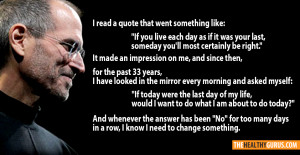 Home gt Quotes gt Quote on a good idea by Steve Jobs