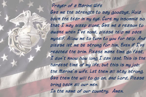 marine wife prayer