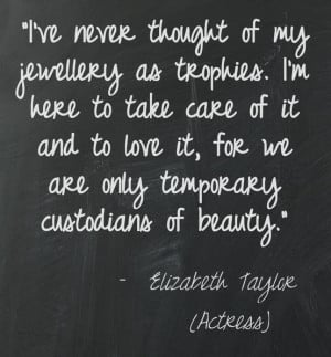 Great quote on #jewellery. We love it! Do you?