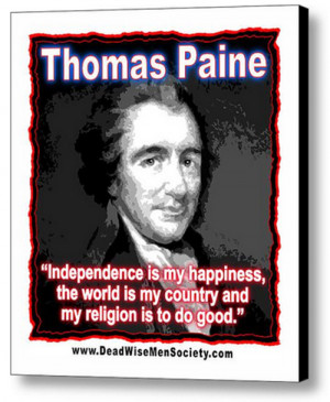 Click the Quote Graphic Below to order your Thomas Paine