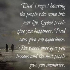 Don't regret