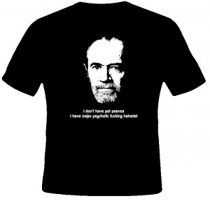 George Carlin Comedian Quote T Shirt