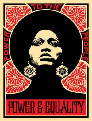 shepard fairey tuesday: afrocentric