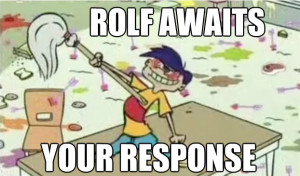 Rolf Angry Ed Edd And Eddy Re: ed's weidest quote