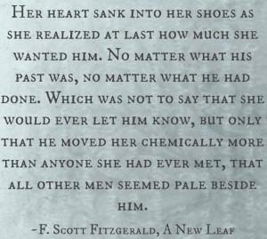 Scott Fitzgerald, A New Leaf