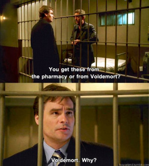 ... pharmacy or from Voldemort? Wilson: Voldemort. Why? House M.D. quotes