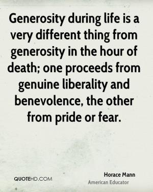 Horace Mann Death Quotes