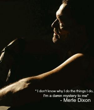 Merle Dixon's last words to Rick