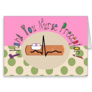Nurse Preceptor Thank You Card III