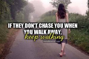 Keep walking :)