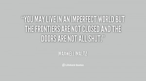 Imperfect World Quotes