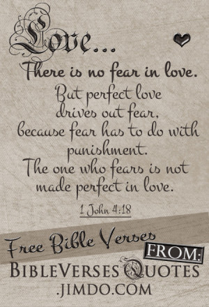 Get More Free Bible Verses about Love Below...