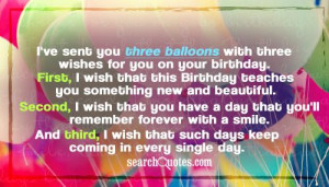 Happy Birthday Quotes For Young Men