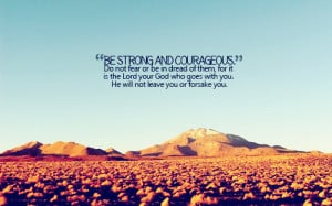 Stay Strong Bible Verses Tumblr Facing your demons, even the