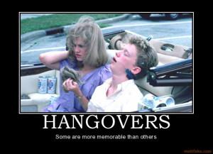hangovers demotivational poster 1249686786