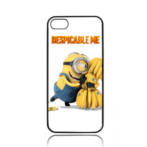 Cool Funny Despicable Me Minion with Banana iPhone 4/ 4s/ 5/ 5c/ 5s ...
