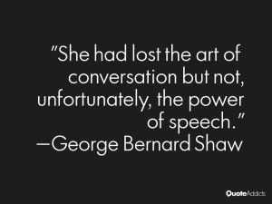 Quotes About the Lost Art of Conversation