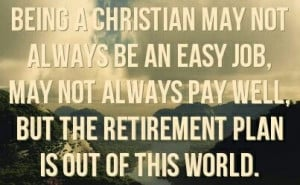 Being a Christian