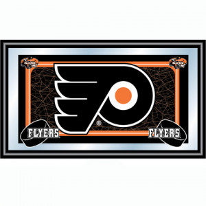 Philadelphia Flyers Framed Team Logo Mirror