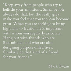 Take, for example, the following quote from Mark Twain, 19th-century ...