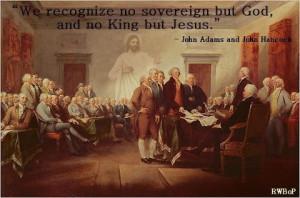 John Adams and John Hancock quote