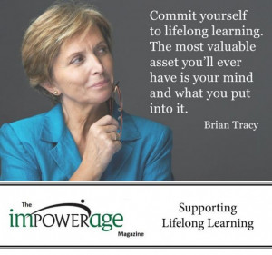 Commit yourself to lifelong learning education quote