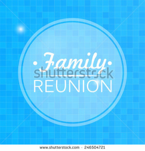 Family reunion Stock Photos, Illustrations, and Vector Art