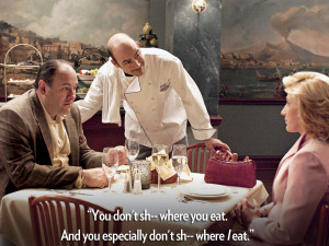 ... soprano quotes week in honour of our newest panini the tony soprano