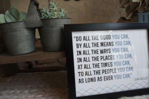 John Wesley Print | Graduation Print | Graduation Quote | Quote Print ...