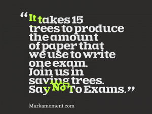 funny quotes about exams quotesgram