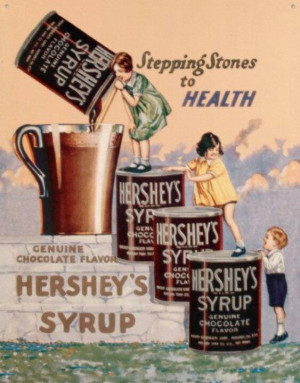 Hershey's Syrup- if this is the way to health- count me in!