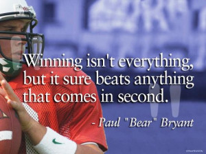 ... quotations,e-card,quotes,bear bryant,bryant,clipquotes,daily