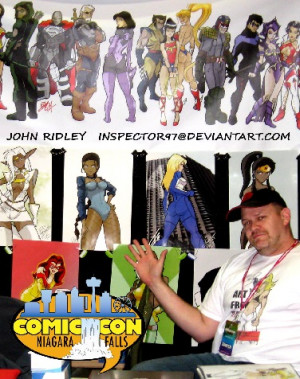 john ridley john ridley is a freelance artist having supplied