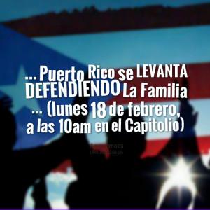 Quotes Picture: puerto rico se levanta defendiendo la familia (lunes ...