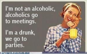 am not an alcoholic